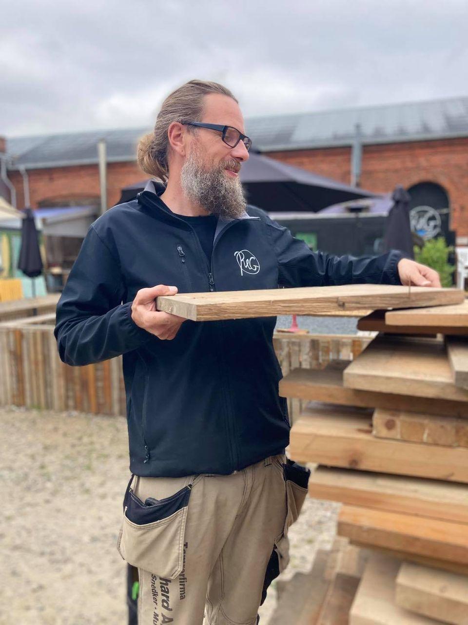 Martin Råt&Godt - Materialebank Genbrugsbyggemarked genbrugsmaterialer Aalborg